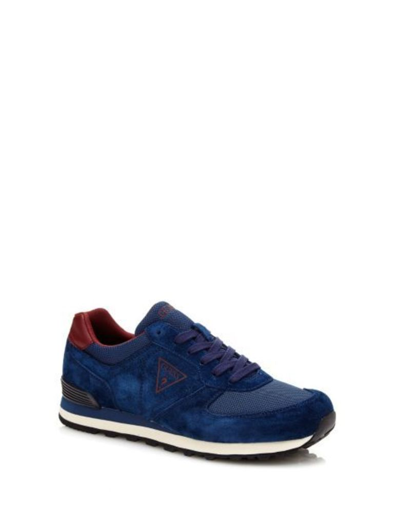Guess Charlie Suede Logo Running Shoe