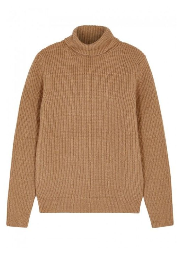 A.P.C. Malcolm Roll-neck Wool Blend Jumper - Size M