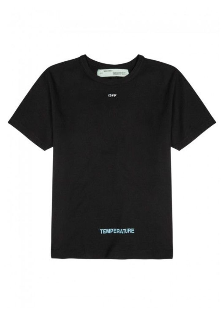 Off-white Temperature Slim Cotton T-shirt - Size L