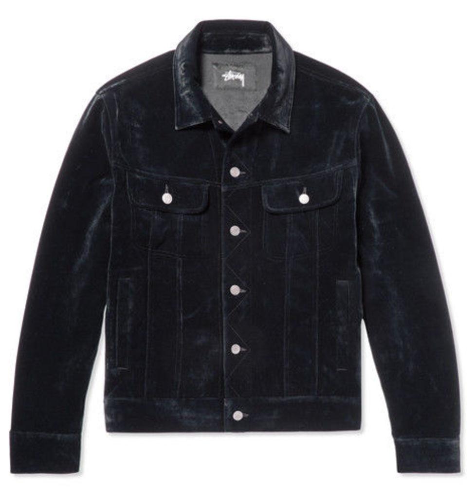 Velvet Trucker Jacket