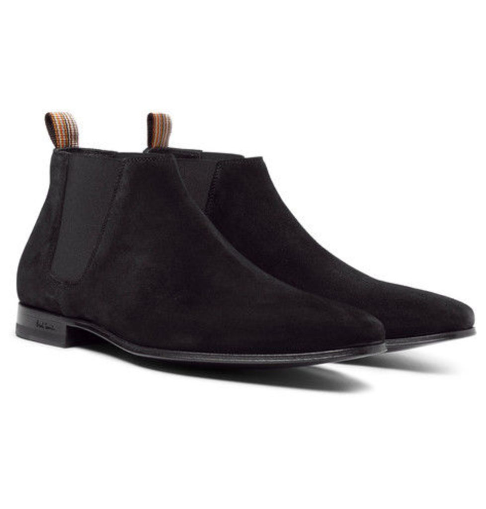 Marlowe Suede Chelsea Boots