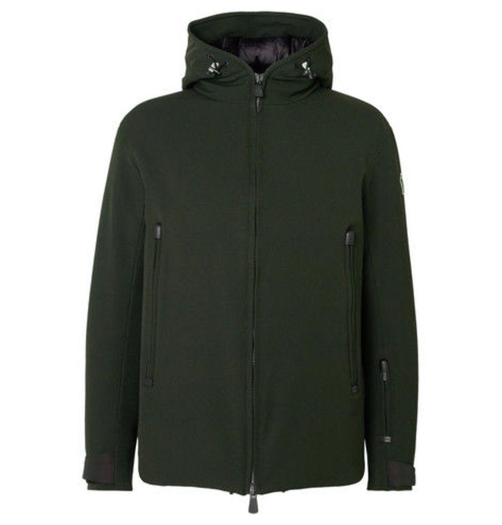 Praz Stretch-twill Hooded Down Ski Jacket