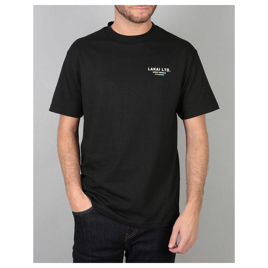 Lakai The Flare T-Shirt - Black (S)