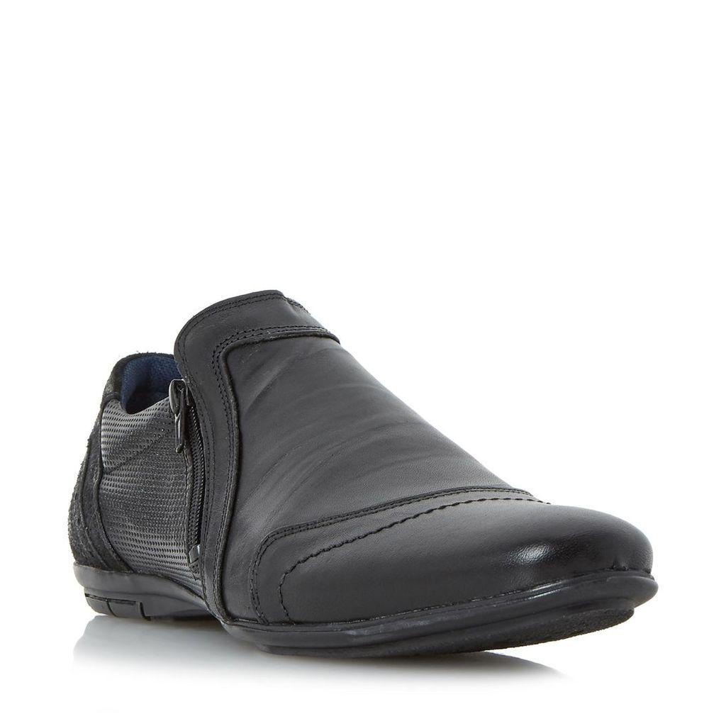 Braver Side Zip Detail Casual Shoe