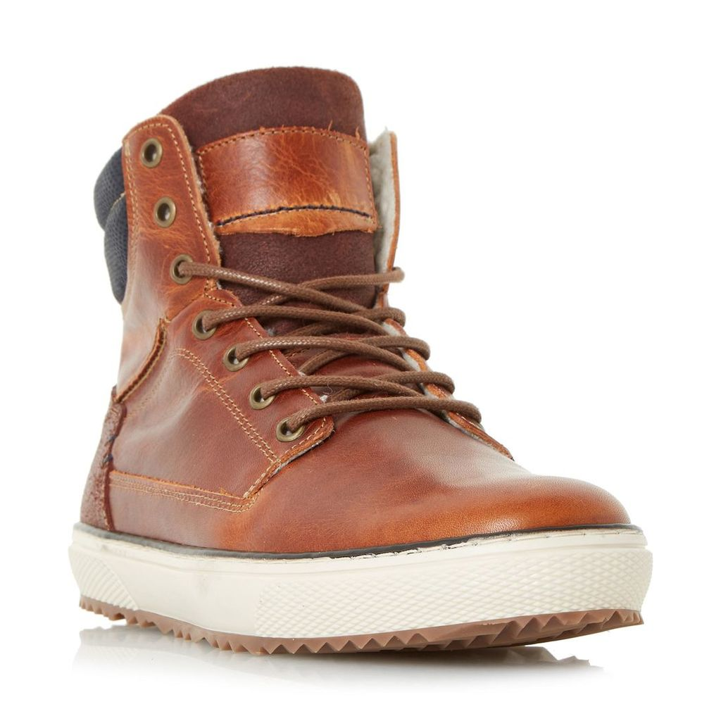Sonic Warm Lined High Top Trainer