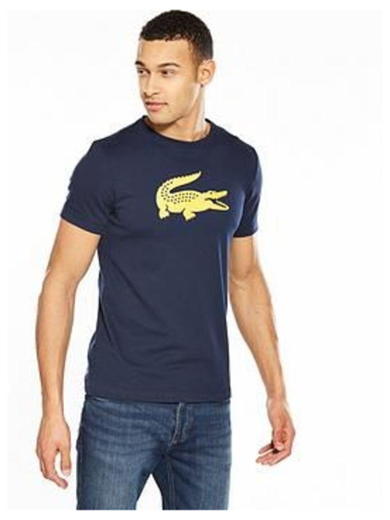Lacoste Lacoste Sport Large Croc T Shirt