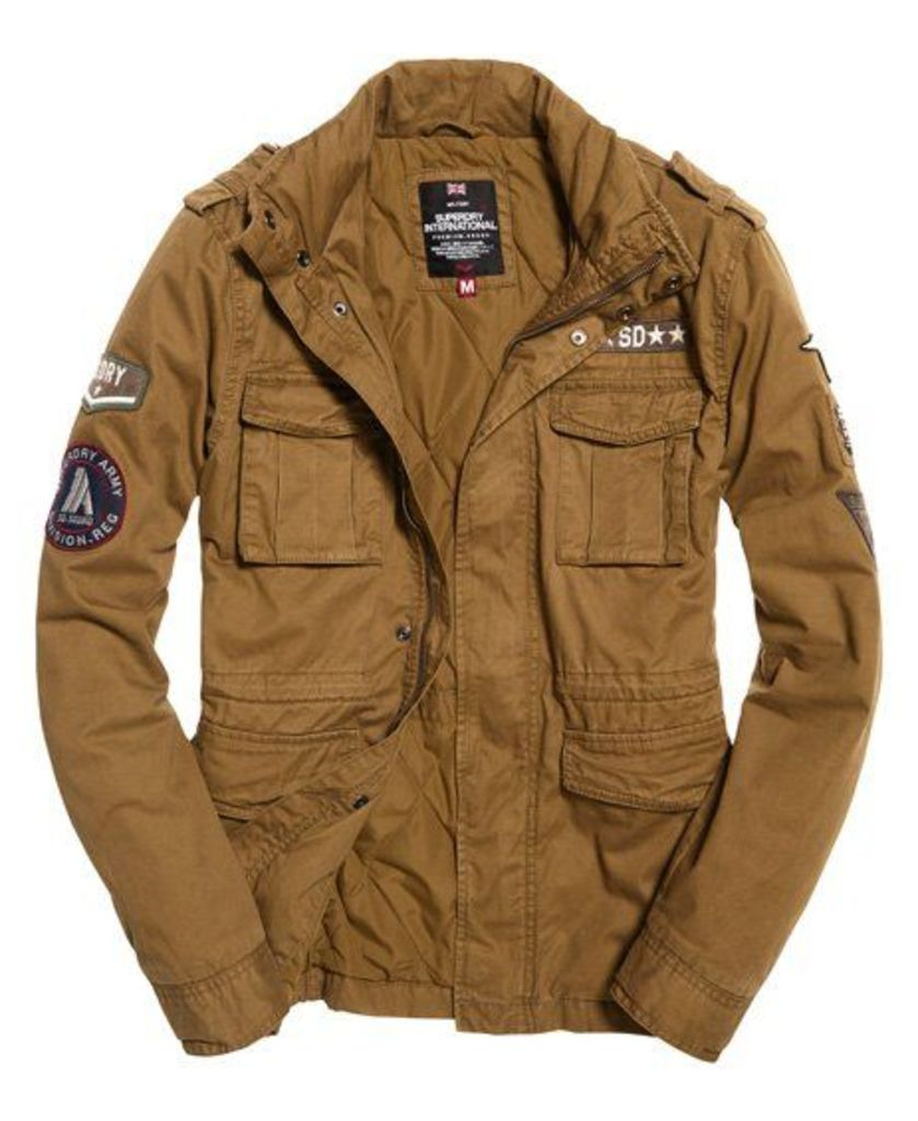 Superdry Rookie Limited Edition Military Jacket