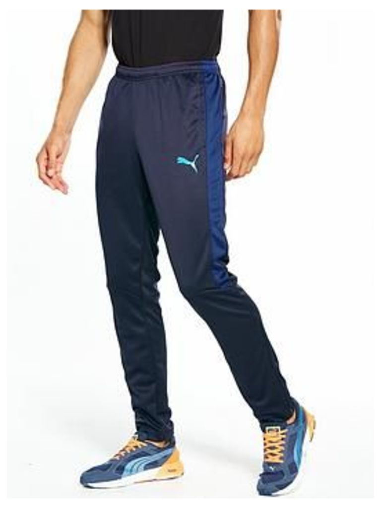 Puma Evo TRG Training Pants, Blue, Size S, Men