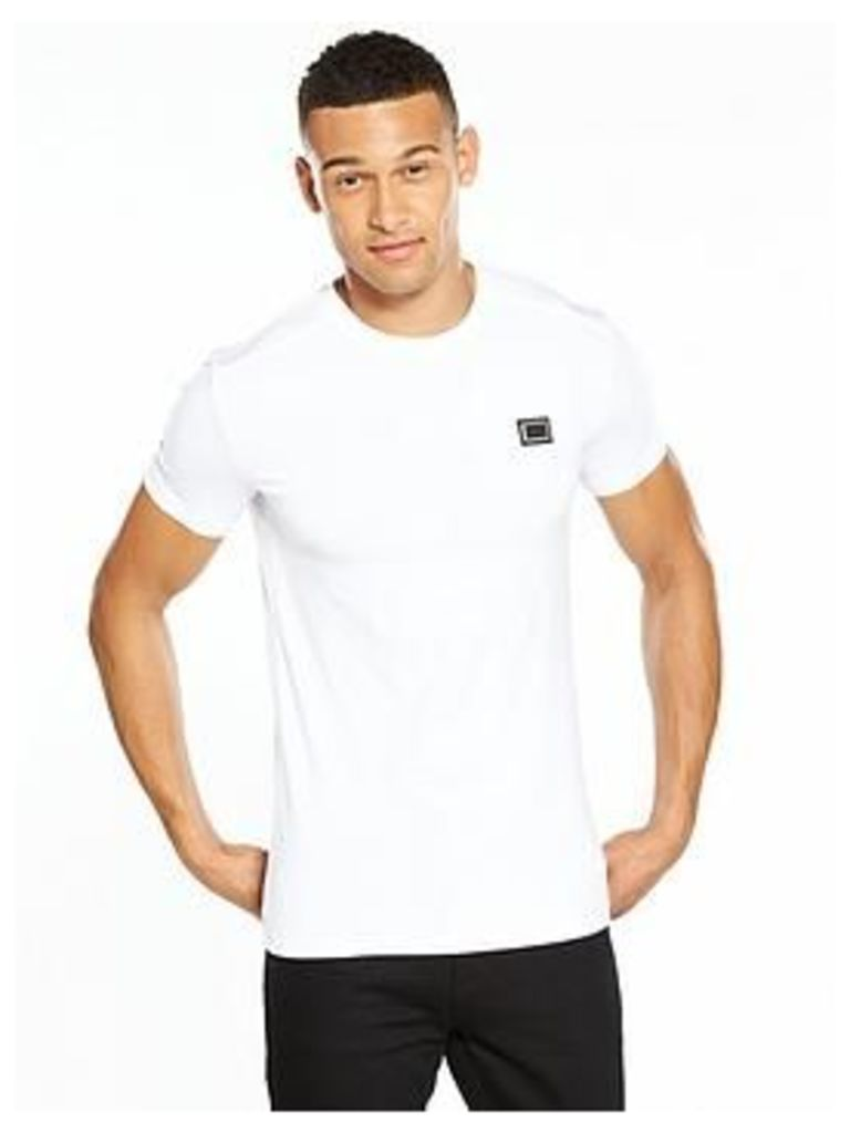 Antony Morato Badge Tshirt, White, Size M, Men