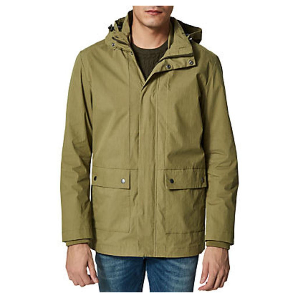 Selected Homme Tim Cotton Jacket, Olive Branch