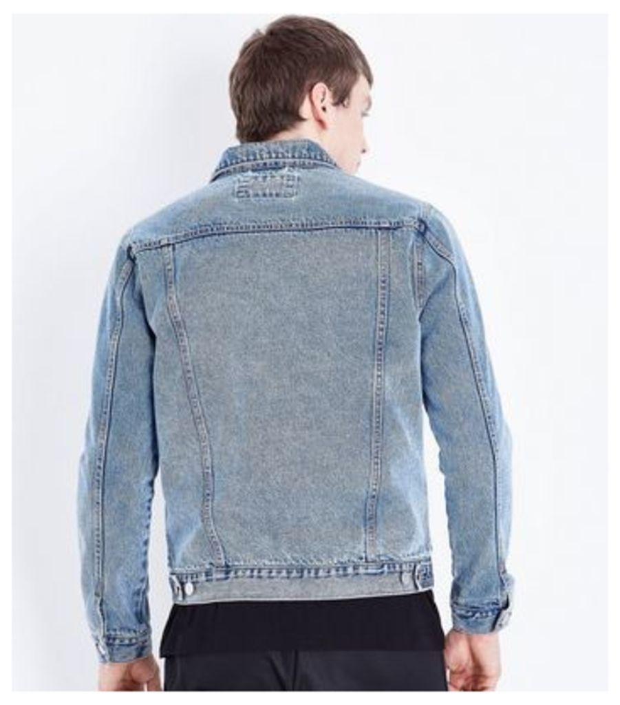 Pale Blue Denim Jacket New Look