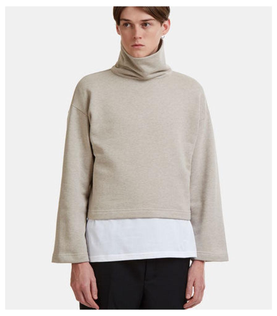 Oversized Funnel Neck Sweater