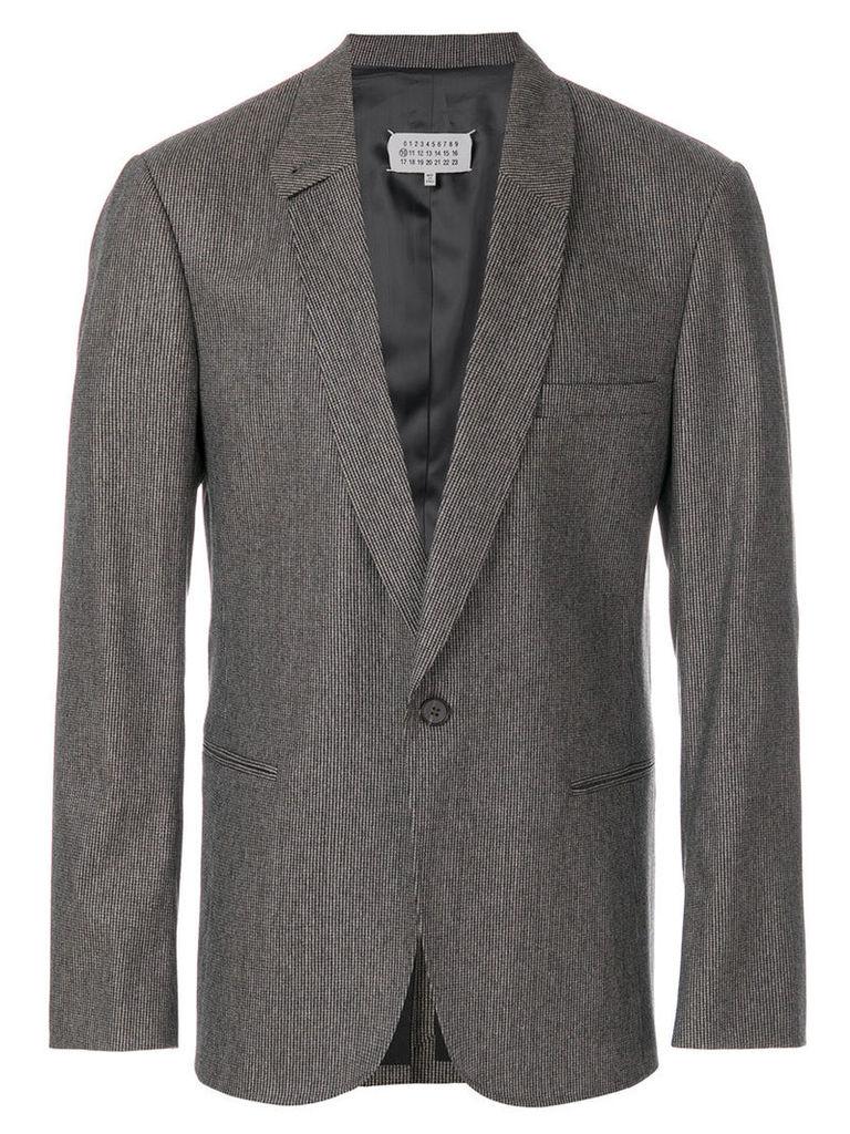 Maison Margiela - classic suit blazer - men - Wool/Cotton/Spandex/Elastane/Viscose - 50, Grey