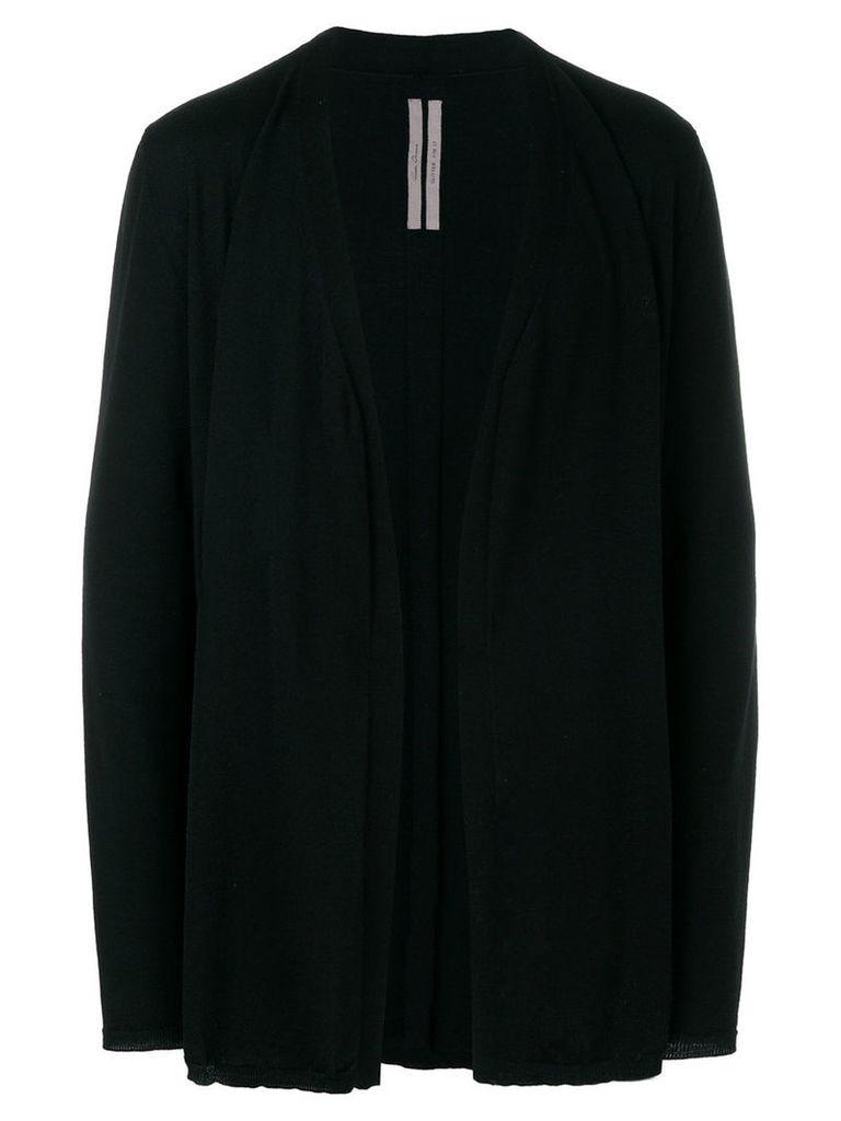 Rick Owens - open front cardigan - men - Virgin Wool - S, Black