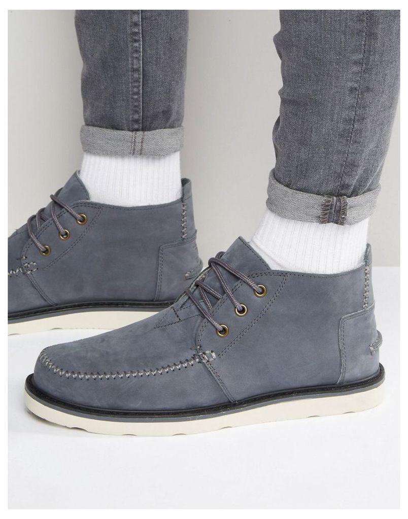 TOMS Chukka Nubuck Boots - Grey