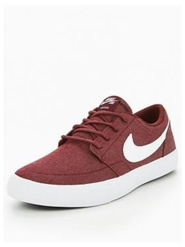 Nike Sb Portmore - Burgundy