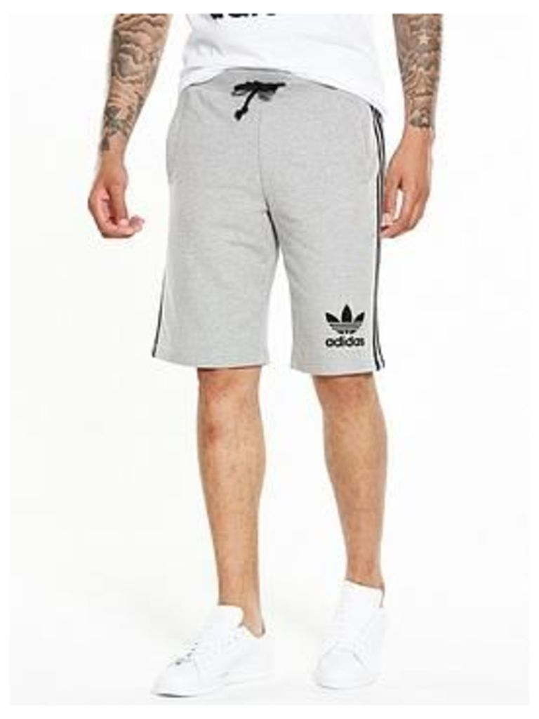 Adidas Originals 3S Short - Medium Grey Heather