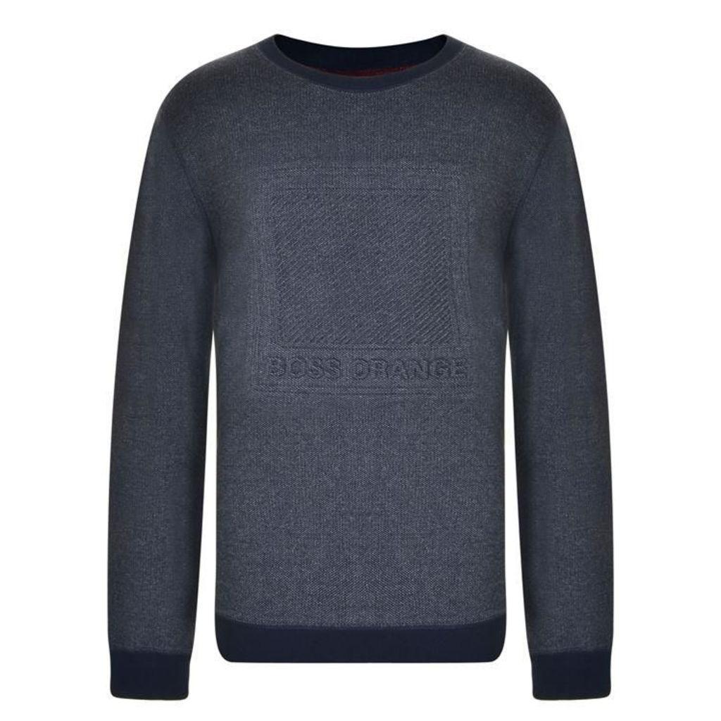 BOSS ORANGE Wack Logo Sweatshirt