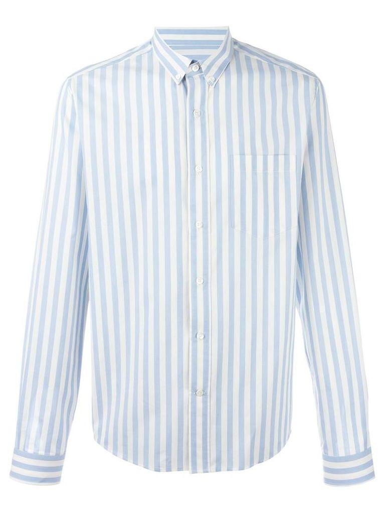 Ami Alexandre Mattiussi - button down shirt - men - Cotton - 39, Blue
