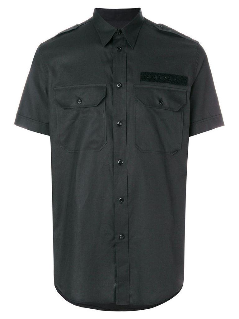Givenchy - short-sleeved shirt - men - Cotton - 43, Black