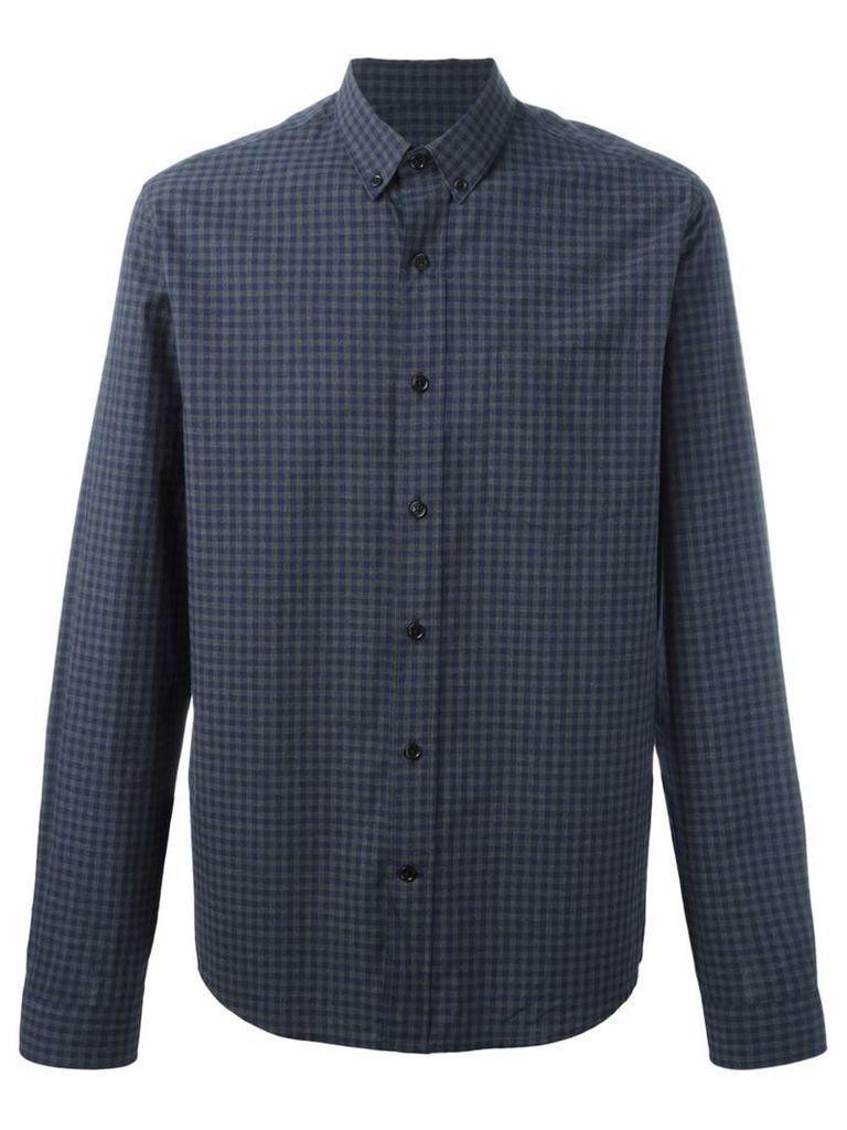 Ami Alexandre Mattiussi - button down shirt - men - Cotton - 38, Blue
