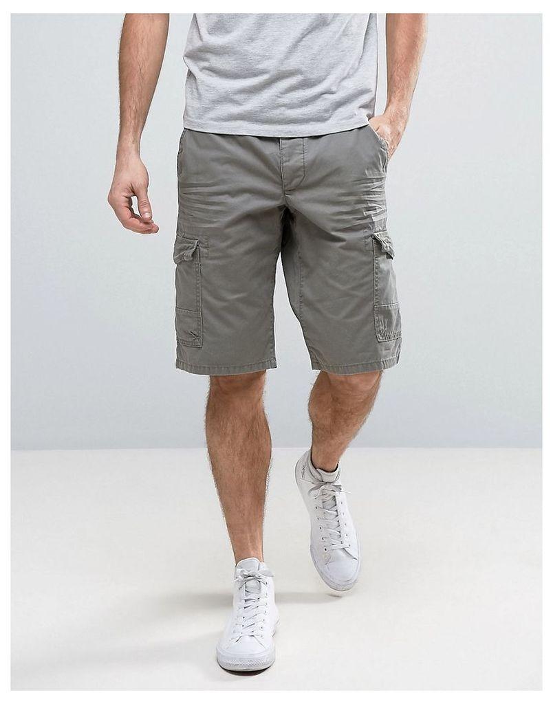 Esprit Cargo Shorts in Khaki - Olive