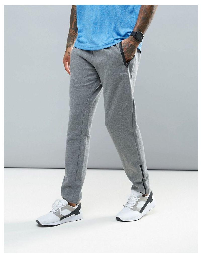 Slazenger Fleece Active Joggers - Grey