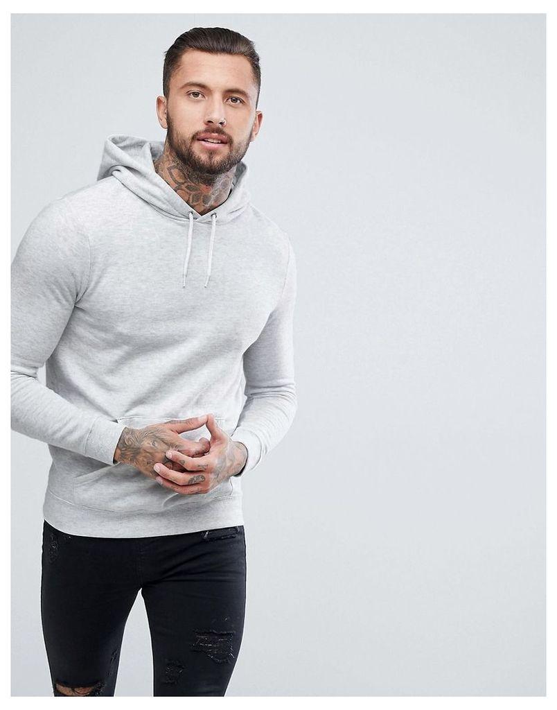 New Look Hoodie In Light Grey - Grey