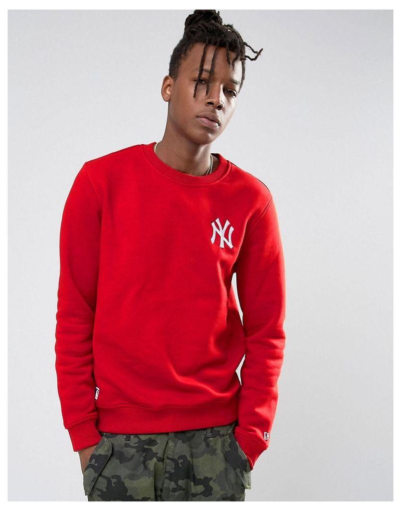New Era Yankees Sweatshirt - Red