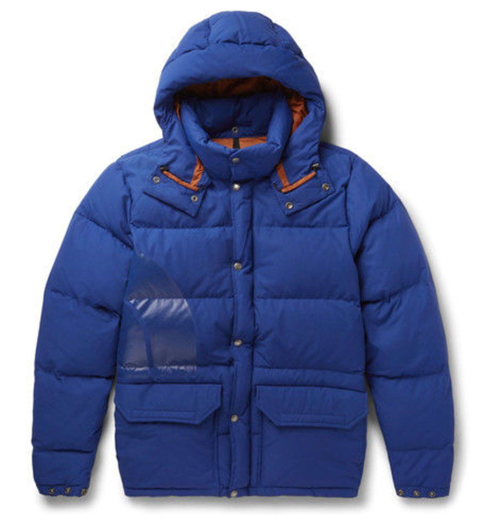 + North Face Canyon Cotton-blend Down Jacket