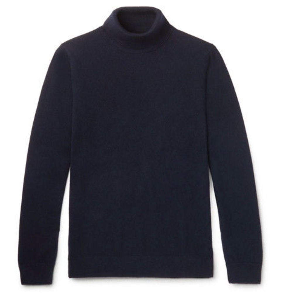Merino Wool Rollneck Sweater