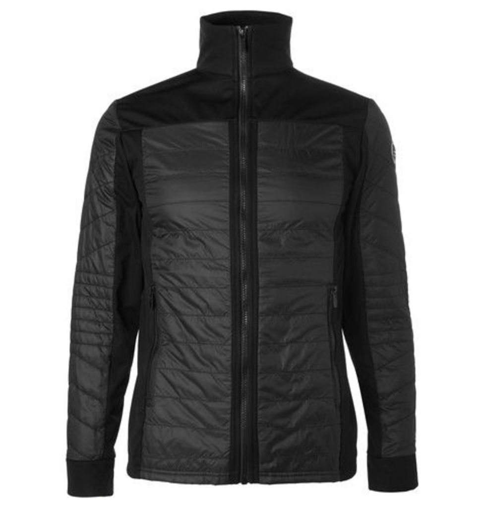 Ted Quilted Perfortex And Softshell Ski Jacket
