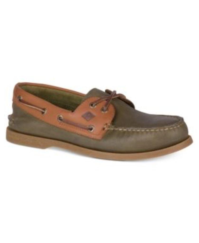 Sperry Men's A/O 2-Eye Cross Boat Shoes Men's Shoes
