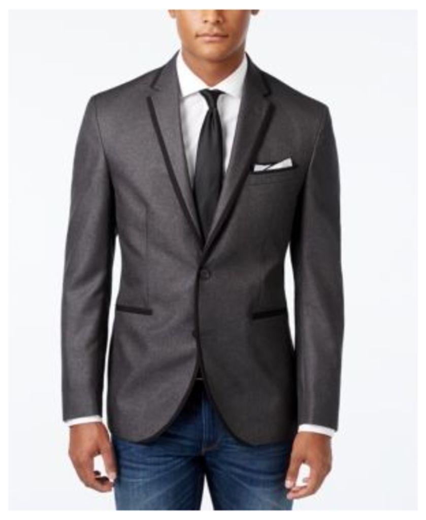 Kenneth Cole Reaction Men's Solid Slim-Fit Dinner Jacket