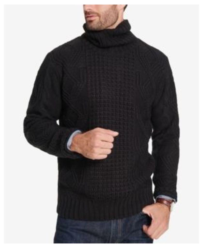 Weatherproof Vintage Men's Chunky Turtleneck Sweater