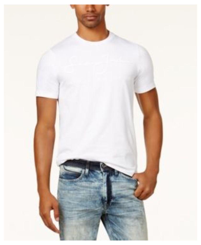 Sean John Men's Big & Tall Script Logo T-Shirt