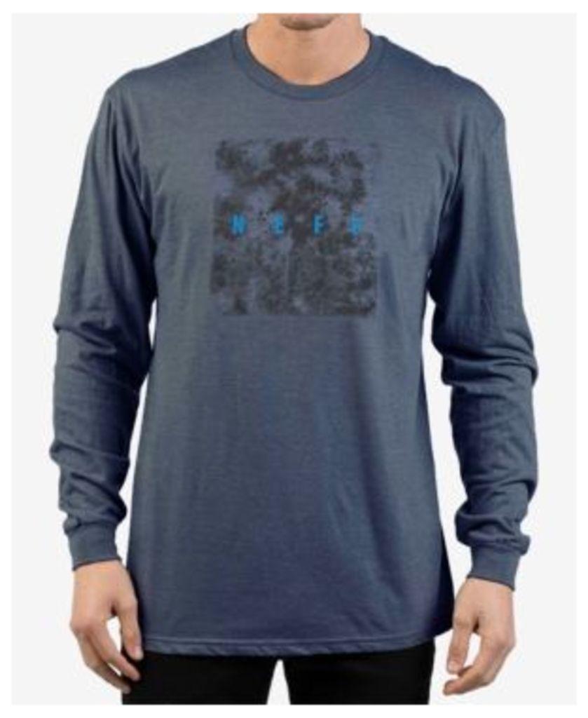 Neff Men's Quad Long-Sleeve Graphic T-Shirt