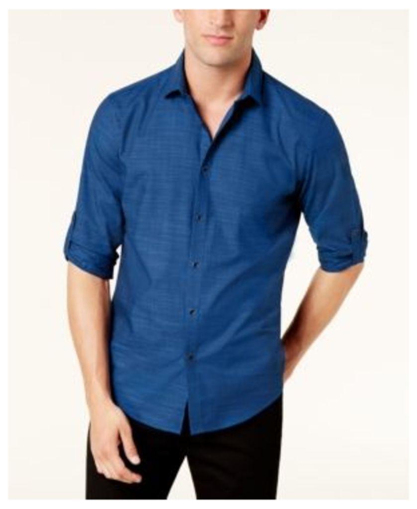 Alfani Men's No Pocket Warren Shirt, Created for Macy's