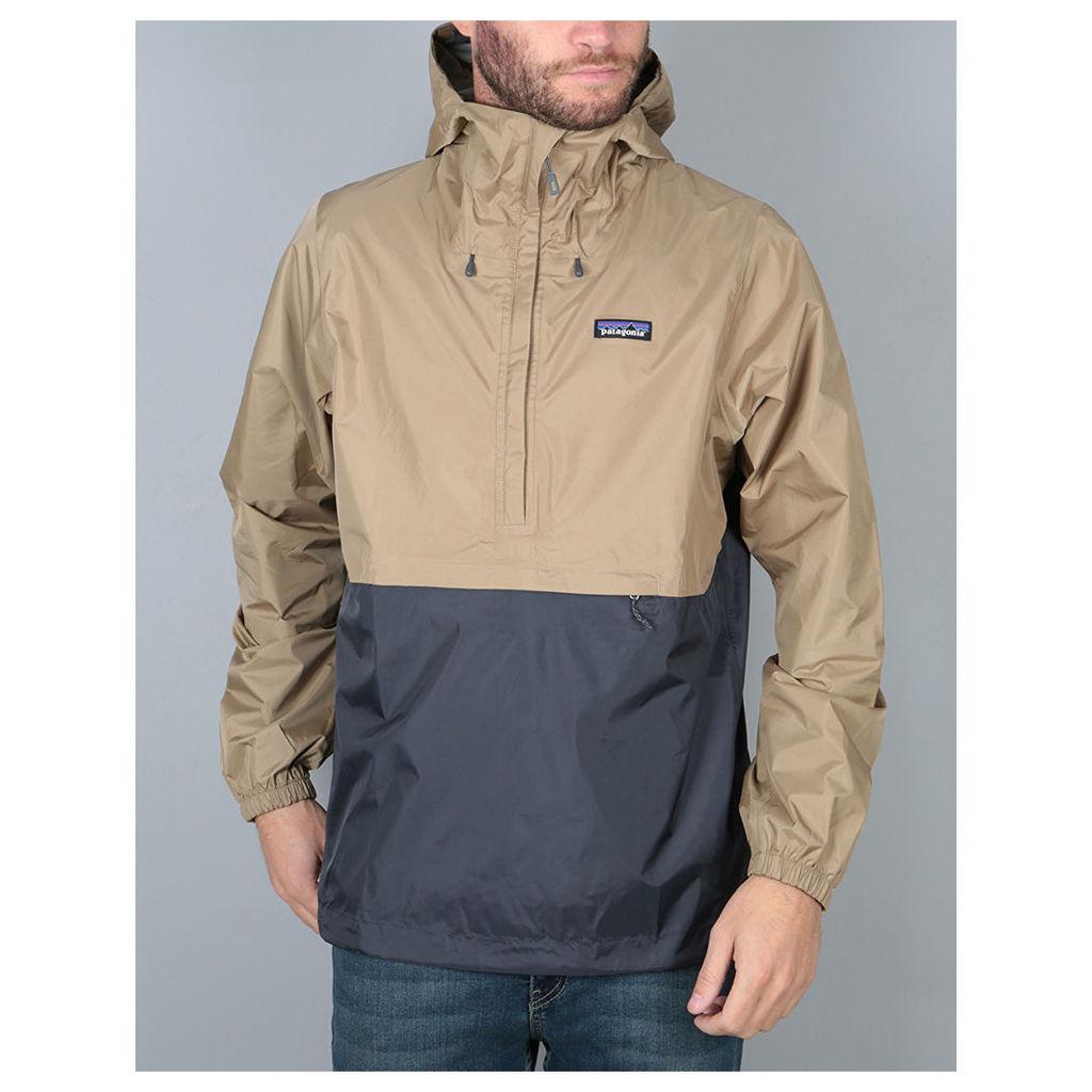 Patagonia Torrentshell Pullover Jacket - Mojave Khaki (S)