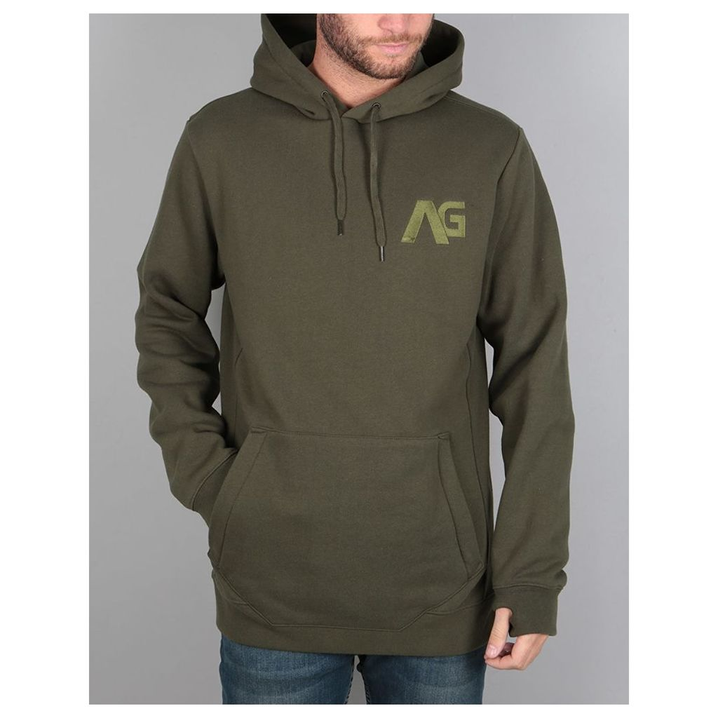 Analog Crux Pullover Hoodie - Forest Night (S)