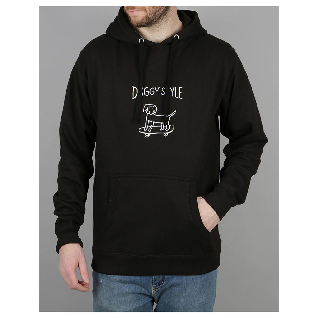 Route One Doggy Style Pullover Hood - Black (M)