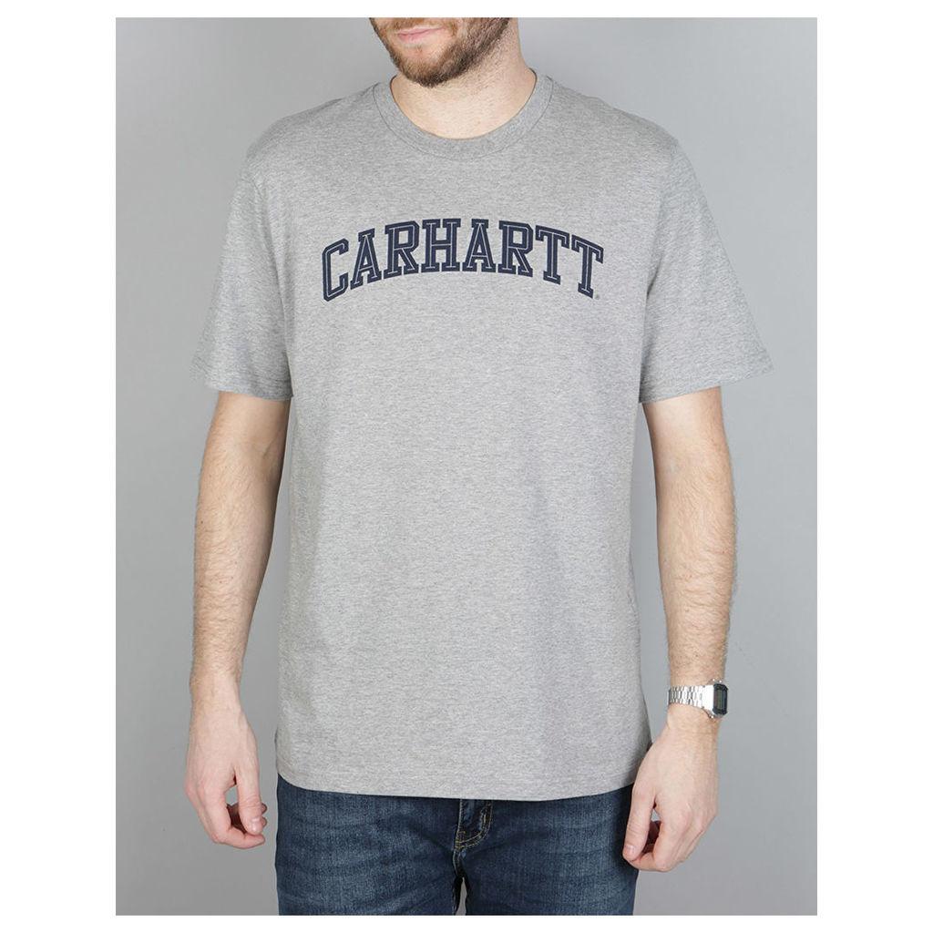 Carhartt S/S Yale T-Shirt - Grey Heather/Navy (XL)