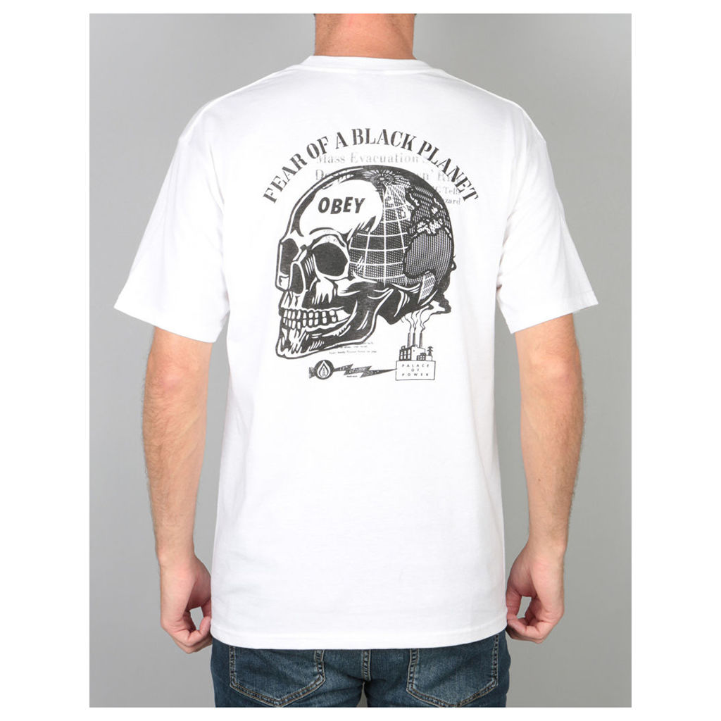 Obey Fear of a Black Planet T-Shirt - White (S)