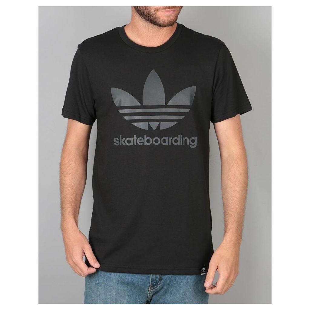 Adidas Clima 3.0 T-Shirt - Black/Carbon (X Small)