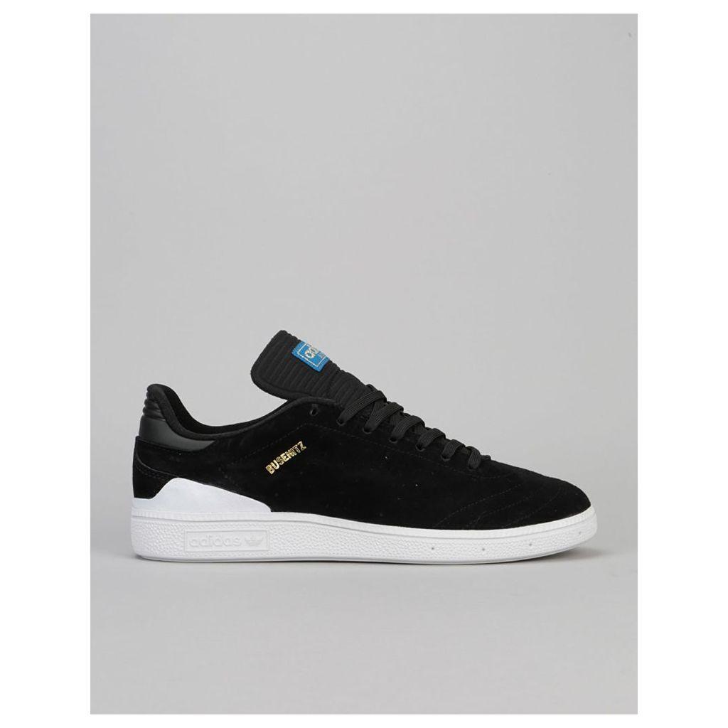 Adidas Busenitz RX Skate Shoes - Core Black/White/Bluebird (UK 8)