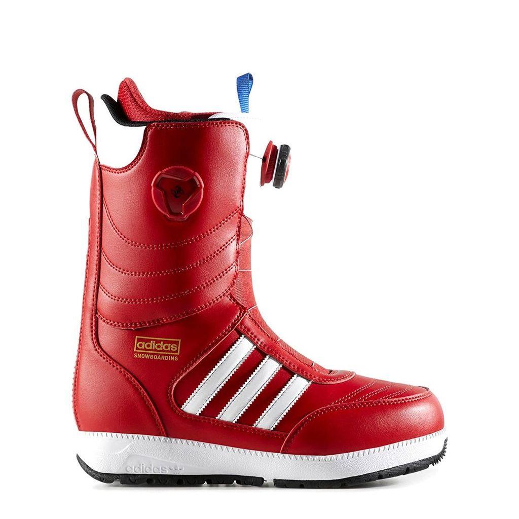 Adidas Response ADV Snowboard Boots - Scarlet/White/Core Black (UK 8)