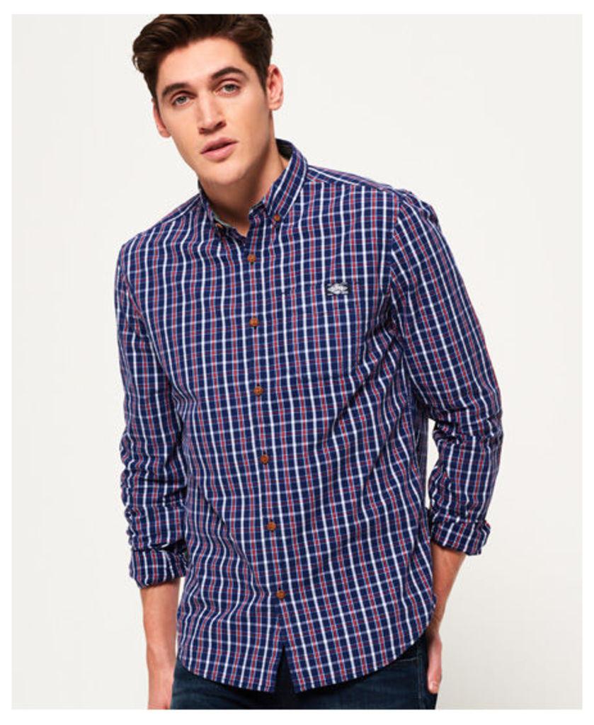 Superdry Washbasket Long Sleeve Button Down Shirt