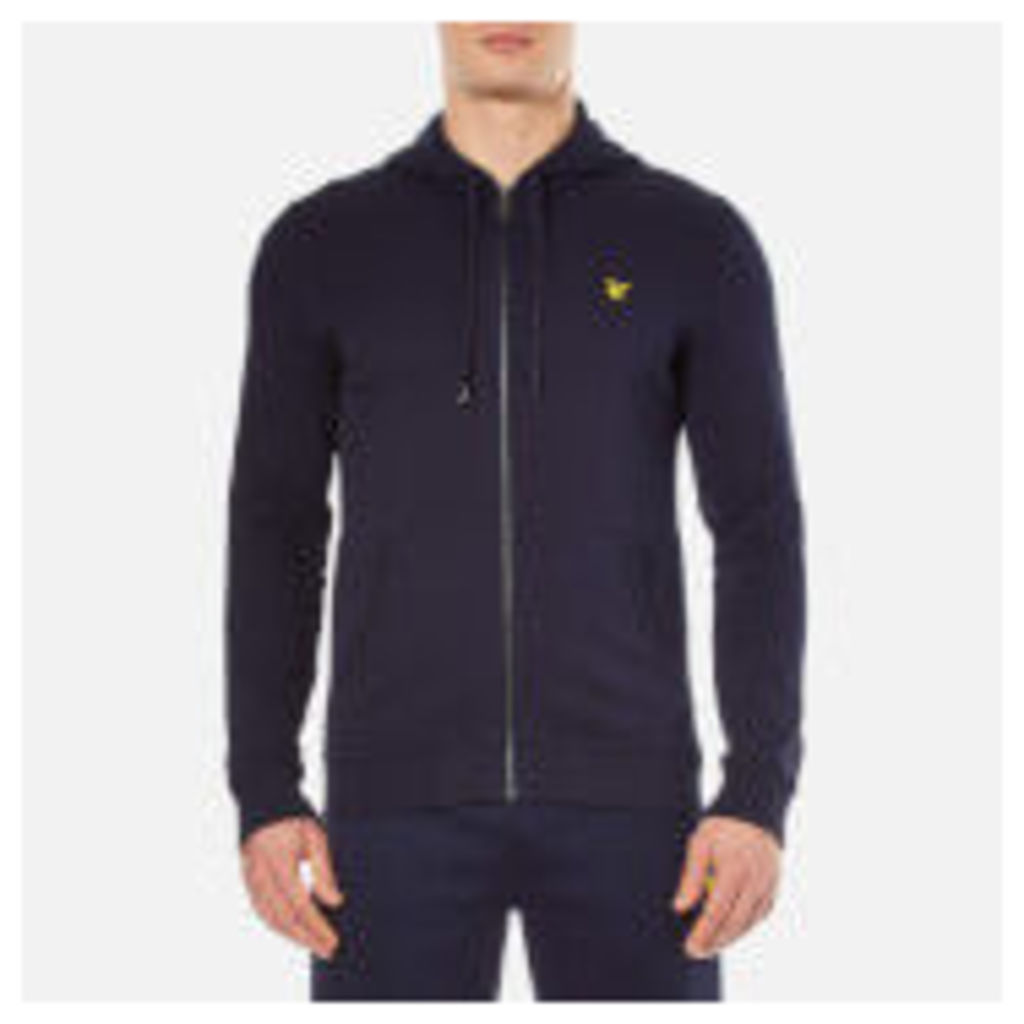 Lyle & Scott Men's Zip Through Hoody - Navy - L - Blue