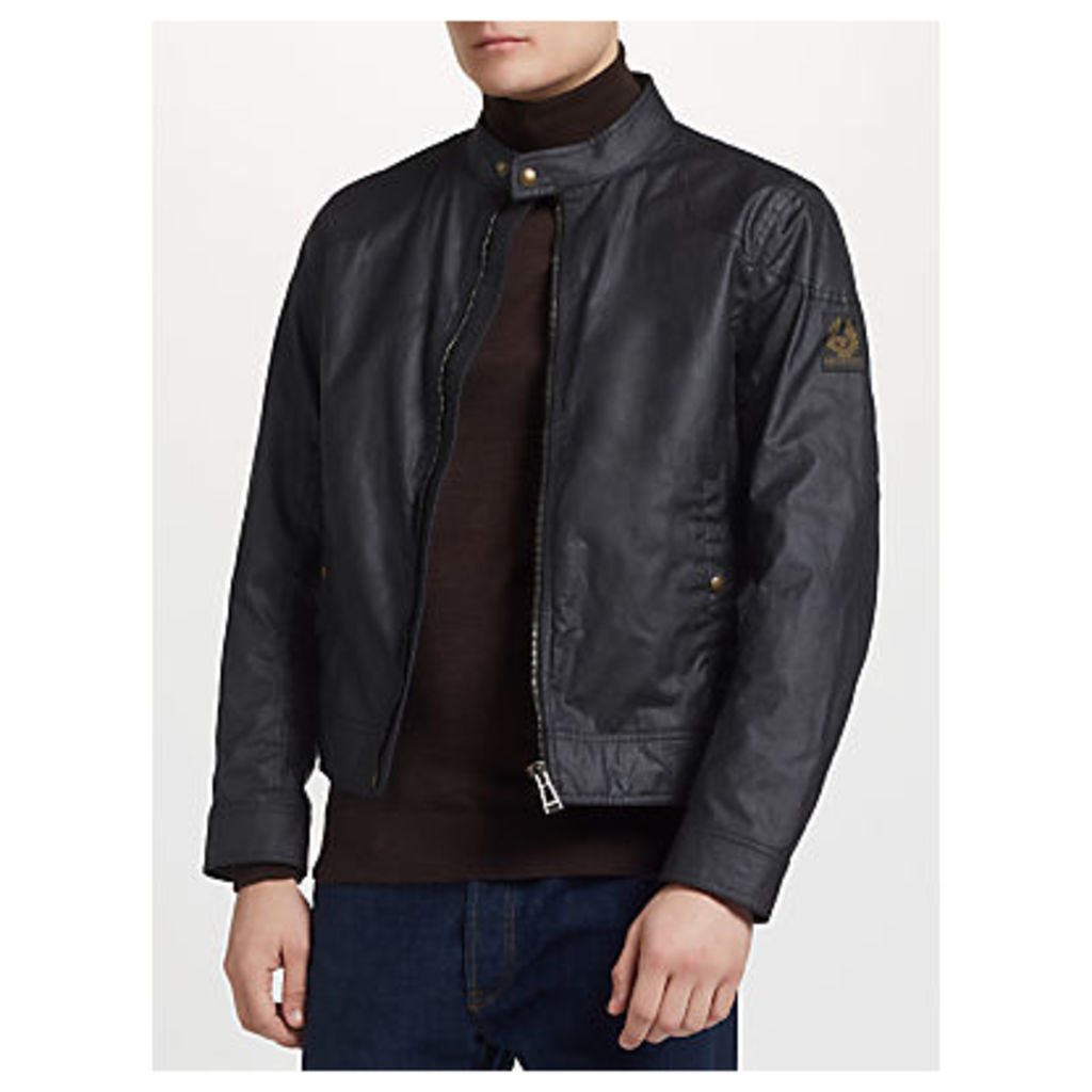 Belstaff Kelland Wax Cotton Jacket, Dark Navy