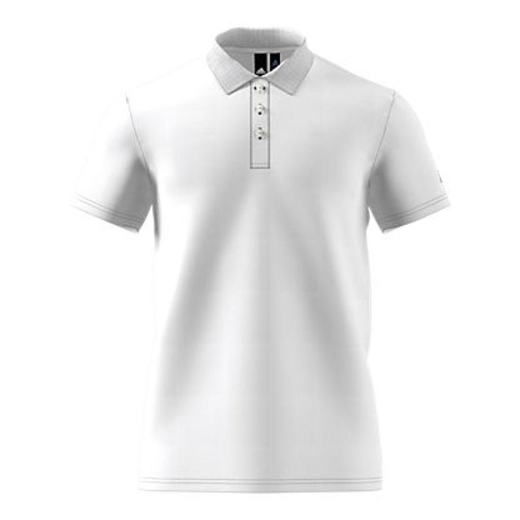 Adidas Essential Base Training Polo Shirt, White